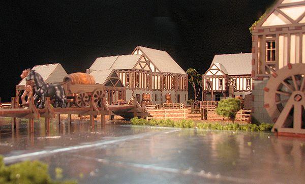 The Medieval Village Series Renaissance Miniatures